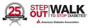 Step Out Walk Logo